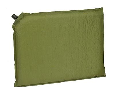 Selbstaufblasende Sitzkissen Oliv inkl. Packsack