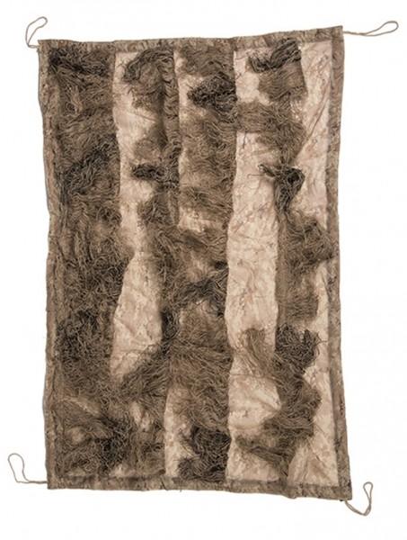 Ghillie Cover Tarnnetz Basic m. Fäden 140x100cm