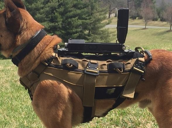 TSE Hundetrageweste K-9 Operator Coyote