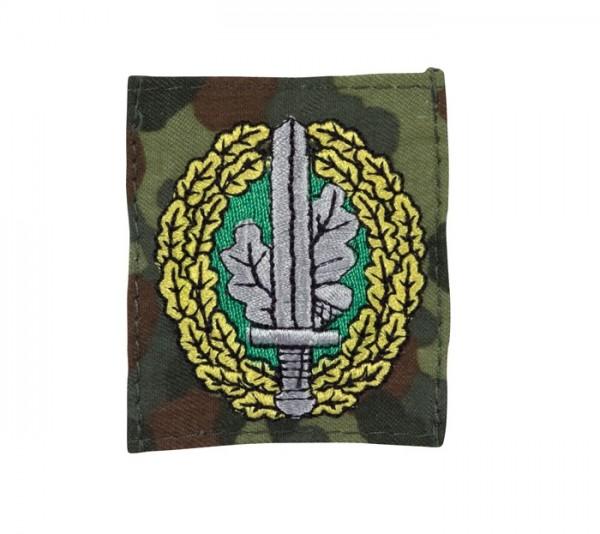 BW Abzeichen Kommandosoldat Textil Flecktarn/Bunt