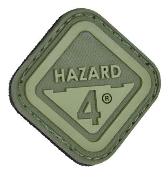 Hazard 4 Patch Diamand Shape Logo