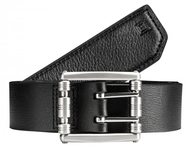 5.11 Tactical Stay Sharp Leather Belt Schwarz