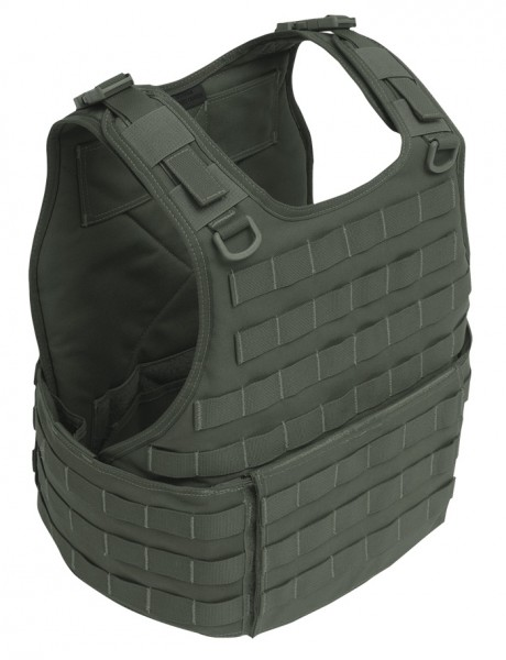 Warrior RICAS Compact Base Plate Carrier Oliv