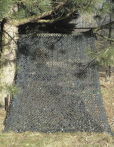 Tarnnetz Camo System 2x3 Meter Schwarz