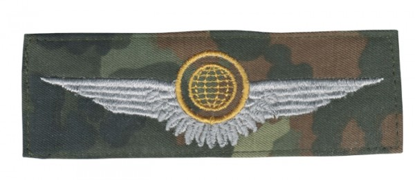 BW Tätigk.Abz. ST.LFZ.Besatzungsangeh.Tarn/Gold