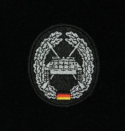 Barett Abzeichen Panzerjäger Textil