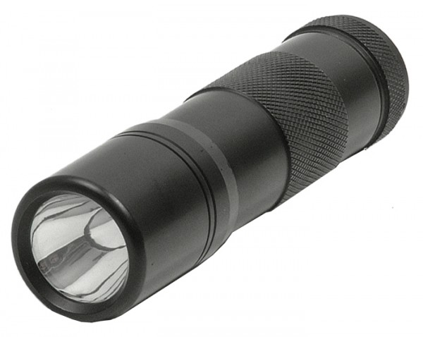 Swat Light Power-LED Lampe 30 Lumen Schwarz