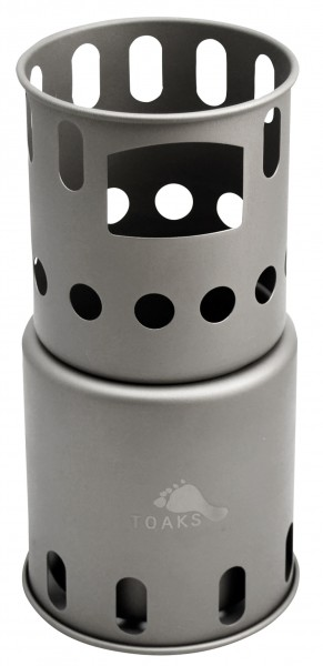 Toaks Titanium Wood Stove Hobo Small