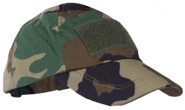 Baseball Cap Mil-Tec Tactical Woodland