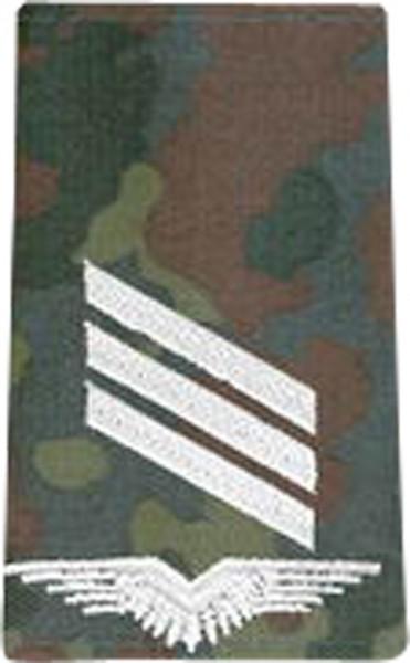 BW Rangschl. Hauptgefreiter LW Fleckt/Silber