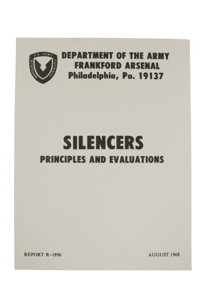 Buch MANUAL Silencers