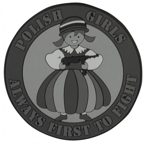 Helikon Rubber Patch Polish Girls Blackops