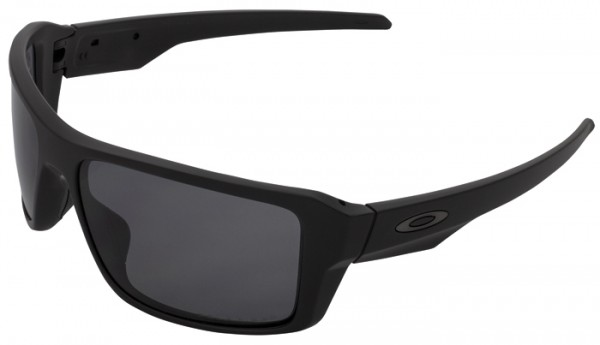 Oakley Double Edge Matte Black Grey Polarized