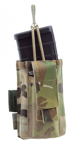 Warrior Single Open M4 & 9mm MagPouch Multicam