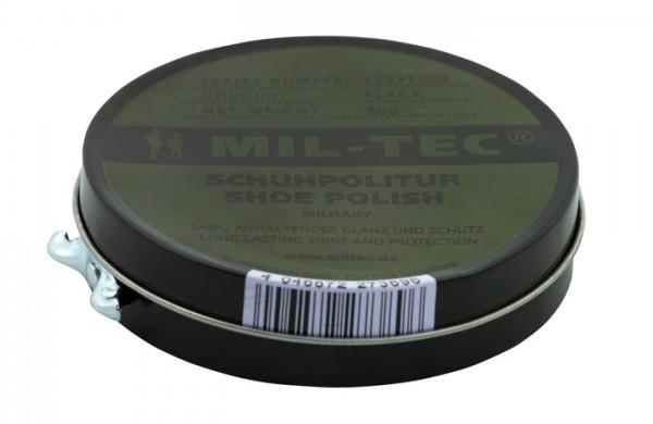 Mil-Tec Lederpflege Schwarz 80g