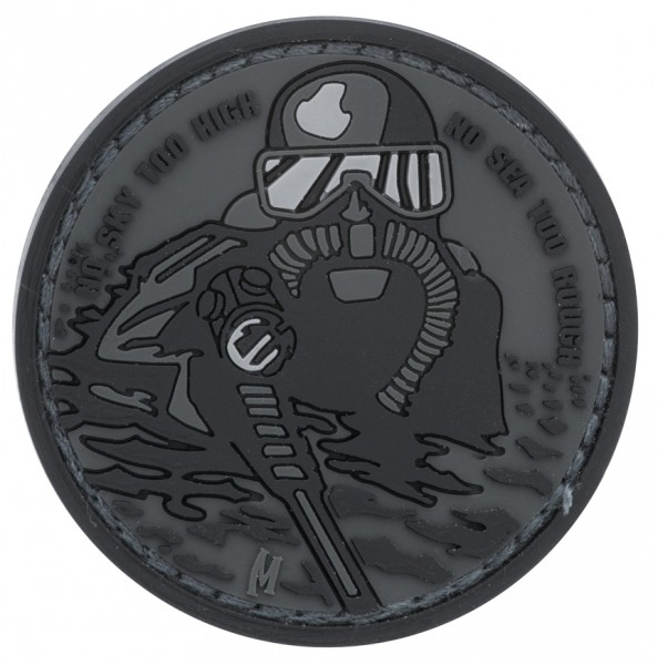Maxpedition Rubber Patch FROGMAN Swat