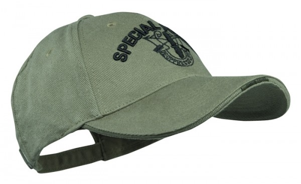 Baseball Cap Oliv Special Forces