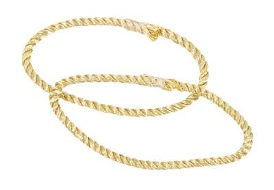 BW Aufschiebekordel (per Paar) FW-Anwärter Gold