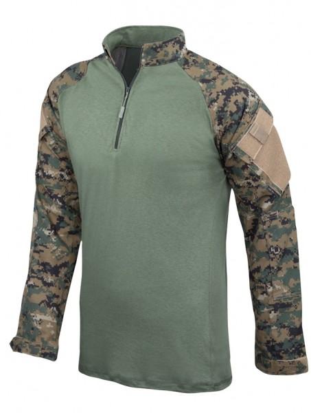 TRU-SPEC Combat Shirt 1/4 Zip WL-Digital
