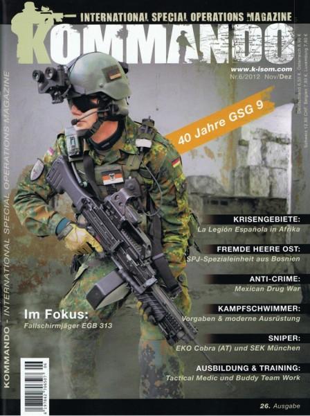 Kommando Magazin K-ISOM Ausgabe: 26 Nr.6/2012