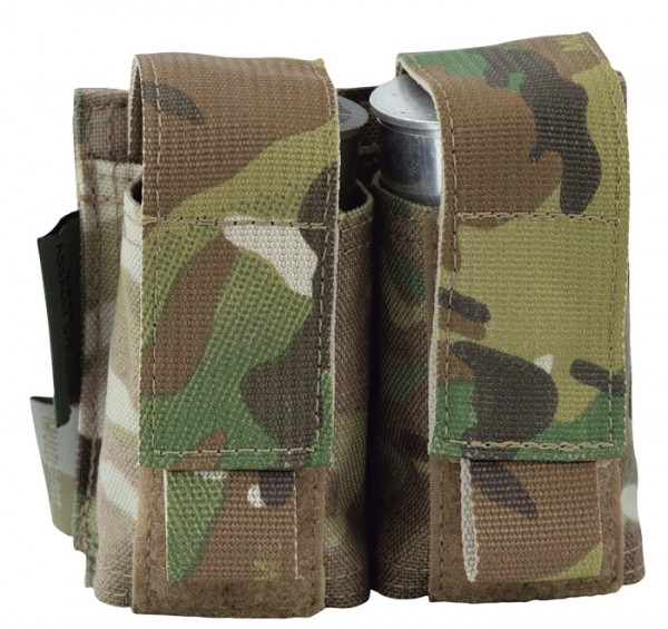 Warrior Double 40mm Pouch Multicam