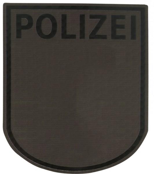Infrarot Patch Polizei Berlin Steingrau