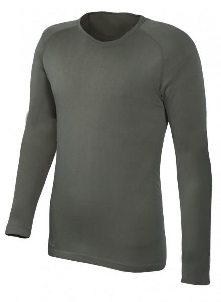 Sports Langarmshirt-Oliv