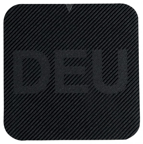 Infrarot Abzeichen mit DEU auf Klett 25x25mm
