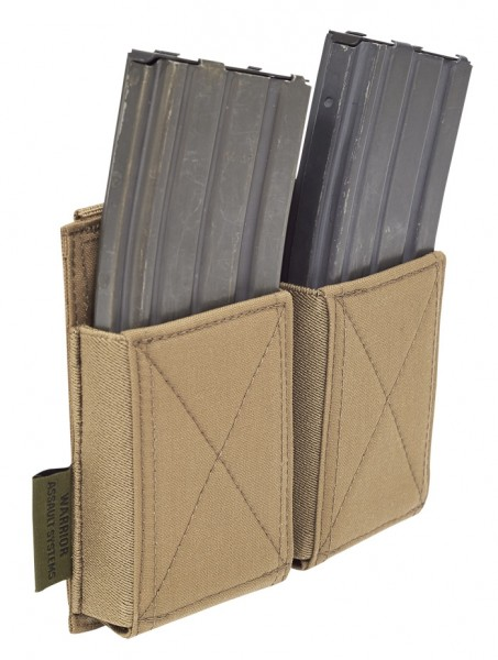 Warrior Double Elastic Mag Pouch