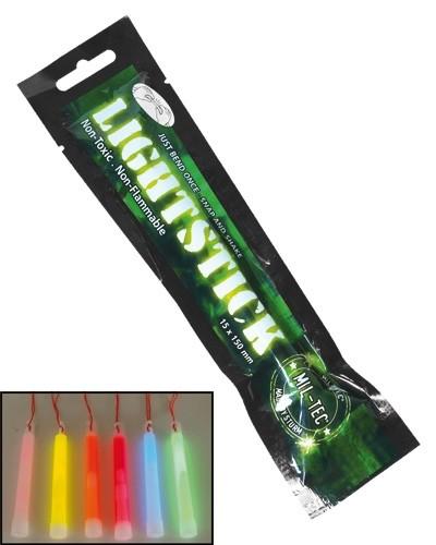 Leuchtstab 15 cm 12 Stunden Grün