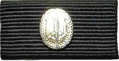 Bandschnalle BW Leistungsabzeichen Silber