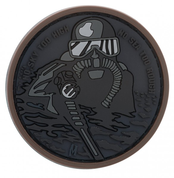 Maxpedition Rubber Patch FROGMAN Stealth