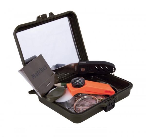 Survival Kit in Kst.Box - Überlebensset