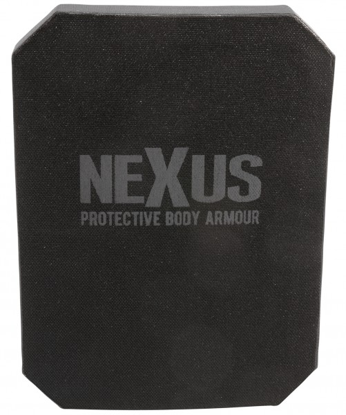 "NEXUS Ballistik Level III+ Stand Alone Side Plate 6""x8"""
