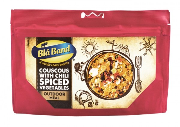 Blå Band Outdoor Meal - Couscous mit Chili