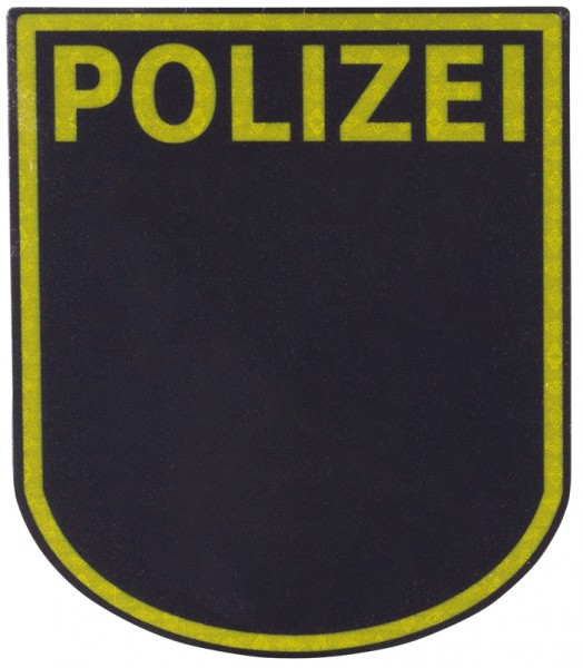 Ärmelabzeichen Polizei Hessen Reflektierend