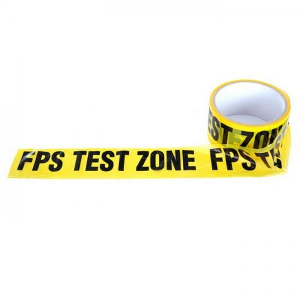 Absperrband FPS Test Zone