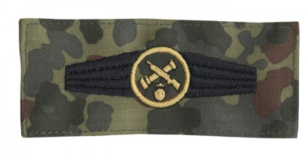 BW Tätigkeitsabz. Rohrwaffenpersonal Tarn/Gold