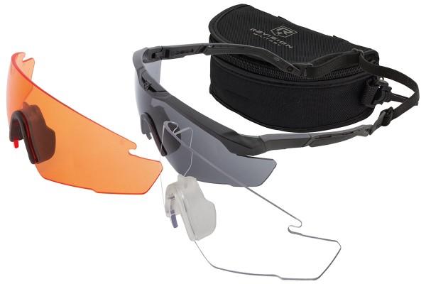 Revision Sawfly R3 Max-Wrap DLX Kit Vermillion, Clear & Smoke