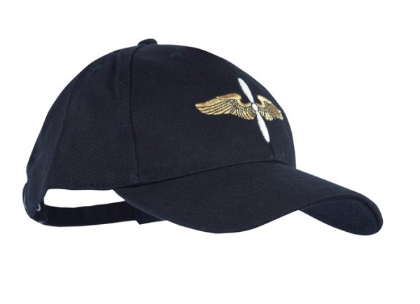 Baseball Cap Schwarz Airforce Propeller