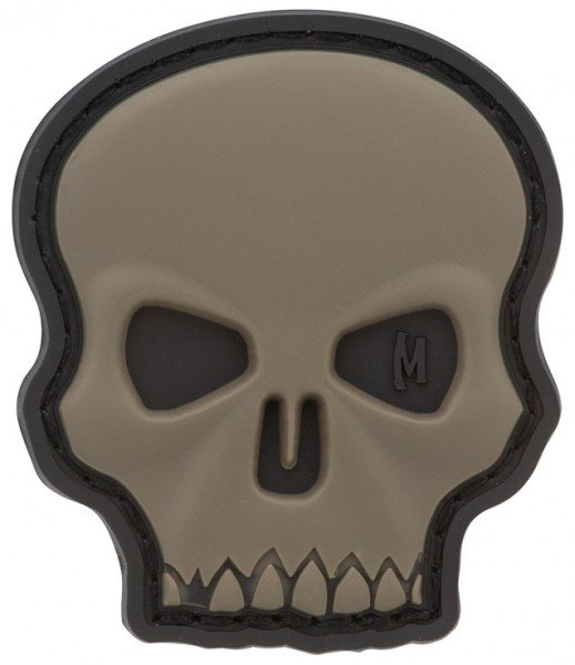 Maxpedition Rubber Patch HI RELIEF SKULL Swat