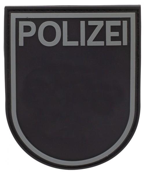 3D Ärmelabzeichen Polizei Rheinland Pfalz (Black Ops)