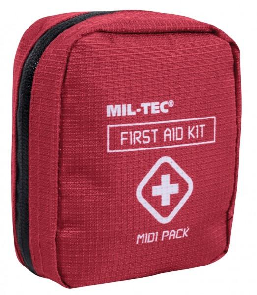 Mil-Tec First Aid Kit Midi Pack Rot