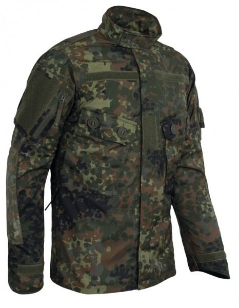 TACGEAR Commando Feldbluse Flecktarn