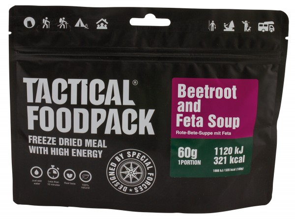 Tactical Foodpack - Rote Beete Suppe mit Feta