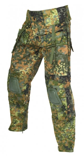 Mil-Tec Einsatzhose Warrior Flecktarn