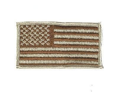 US Nationalitätsabz. Desert Textil