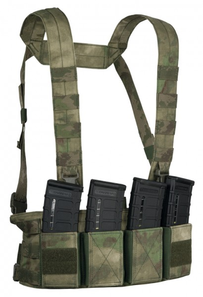 Warrior Chest Rig Low Profile A-Tacs FG