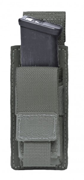 Warrior Single 9mm Pistol Pouch Ranger Green