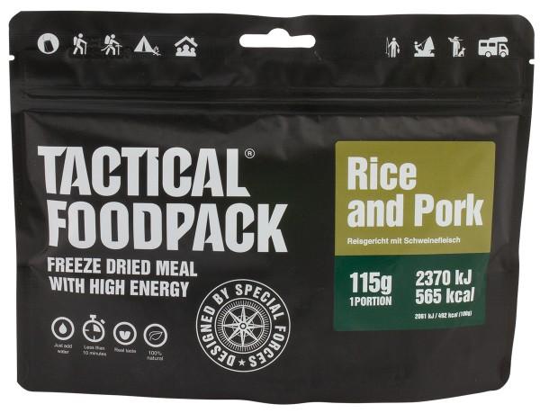 Tactical Foodpack - Reisgericht mit Schweinefleisch